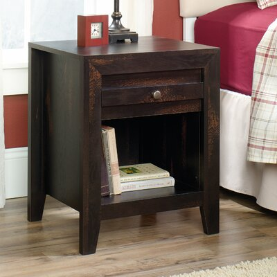 Signal Mountain 1 Drawer Nightstand Color: Char Pine