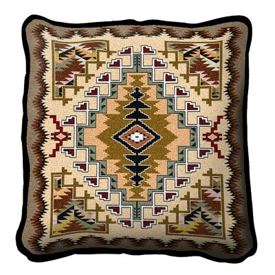 Peterson Painted Hills Throw Pillow Color: Sand