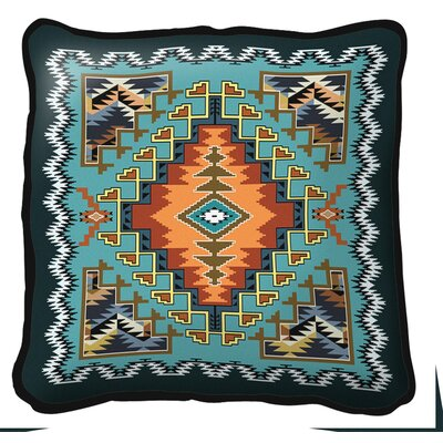 Peterson Painted Hills Throw Pillow Color: Sky