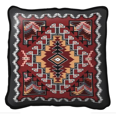 Peterson Painted Hills Throw Pillow Color: Sunset