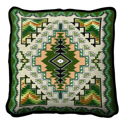 Peterson Painted Hills Throw Pillow Color: Sage