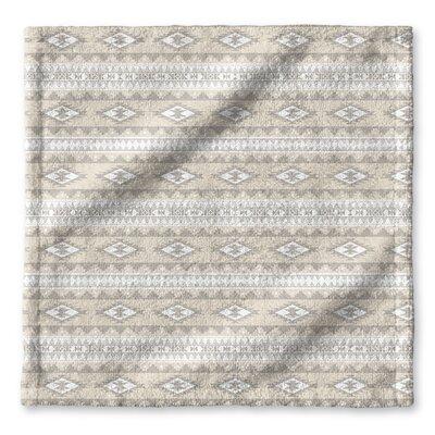 Fleur Wash Cloth Color: Tan, Brown