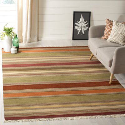 Northeast Pueblo Hand-Woven Area Rug Rug Size: Rectangle 6 x 9