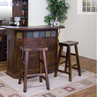 Fresno 3 Piece Pub Table Set