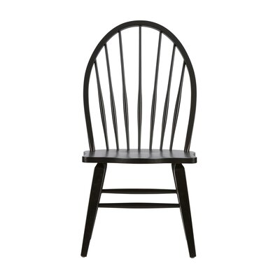 Methuen Side Chair (Set of 2) Finish: Black
