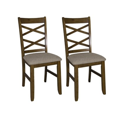 Mendota Side Chair (Set of 2) Finish: Honey