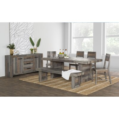 Needham Solid Wood Dining Chair (Set of 2) Color: Distressed Storm