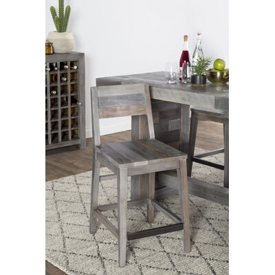 Needham 24 Bar Stool�� Color: Charcoal