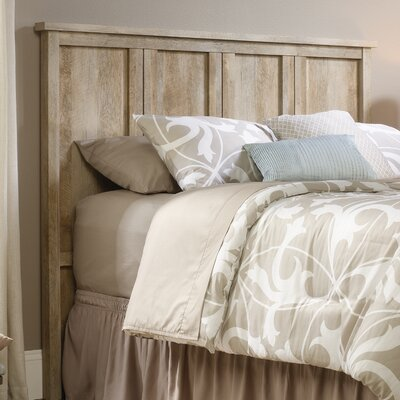 Sunlight Spire Full Panel Headboard Upholstery: Lintel Oak