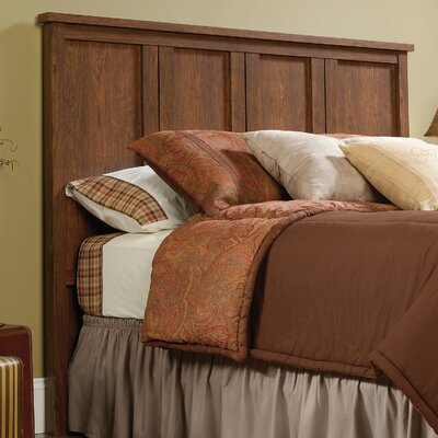 Sunlight Spire Full Panel Headboard Upholstery: Milled Cherry