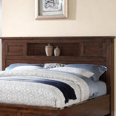 Camas Bookcase Headboard Size: King