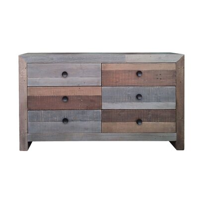 Ada 6 Drawer Double Dresser