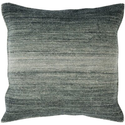 Cortes Wool Throw Pillow Size: 22 H x 22 W x 4 D, Color: Moss