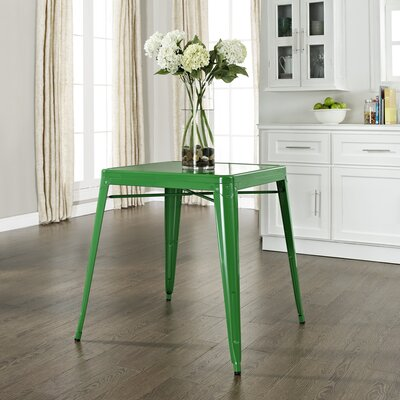 Durango Caf� Dining Table Finish: Green