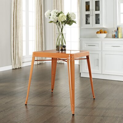 Durango Caf� Dining Table Finish: Orange
