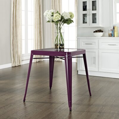 Durango Caf� Dining Table Finish: Purple