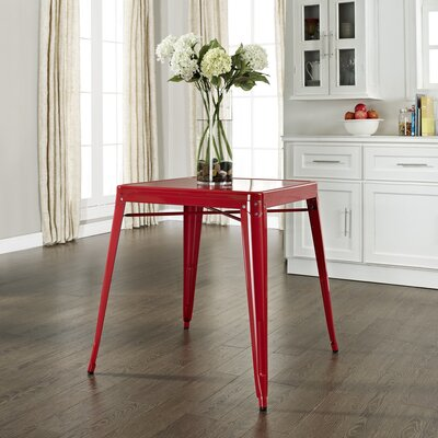 Durango Caf� Dining Table Finish: Red