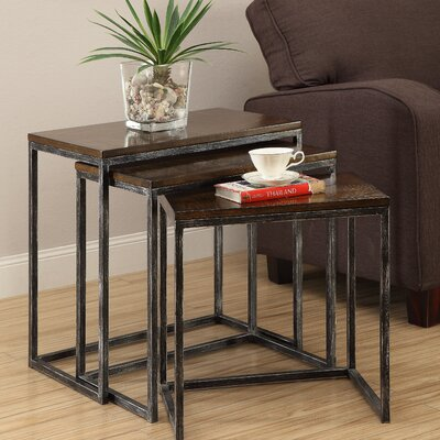 Wheeler 3 Piece Nesting Tables