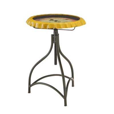 Curlew Clock End Table