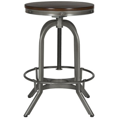 King City Bar Stool Upholstery: Burnt Oak