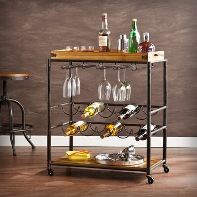 Kahnah Bar Cart