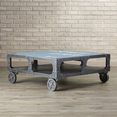 Bell Coffee Table Finish: Blue