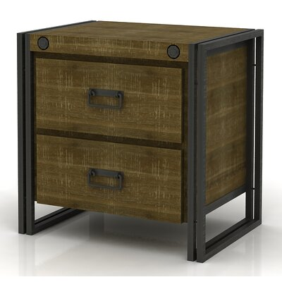 Ardrie 2 Drawer Nightstand