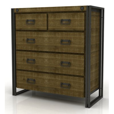 Ardrie 5 Drawer Tallboy Dresser