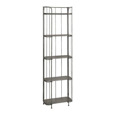 Brasov Tall Iron Etagere Bookcase