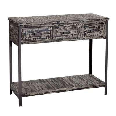 Clayera Console Table Finish: Brown