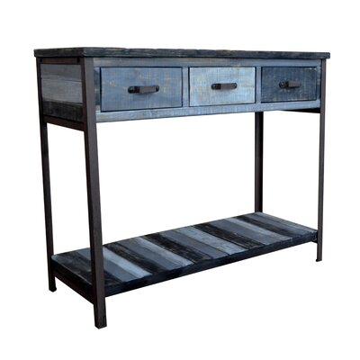 Clayera Console Table Finish: Black