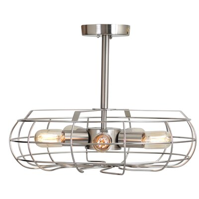 Lonerock 5-Light Mini Pendant Finish: Satin Nickel