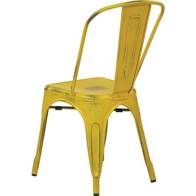 Fineview Dining Side Chair Finish: Antique Yellow