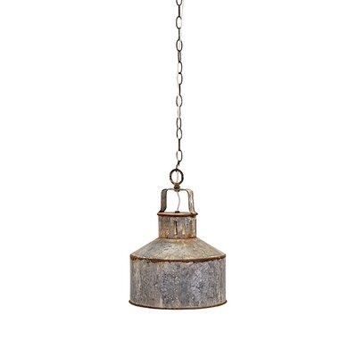 George Galvanized 1-Light Mini Pendant