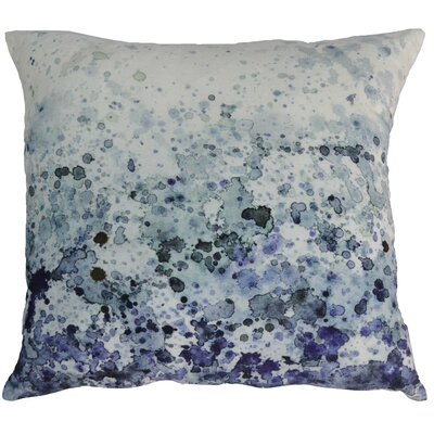 Evelina Sea Spray Velvet Throw Pillow