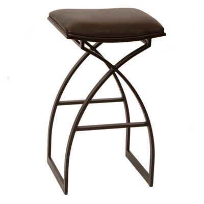Hamisi 26 Bar Stool Upholstery: Coffee