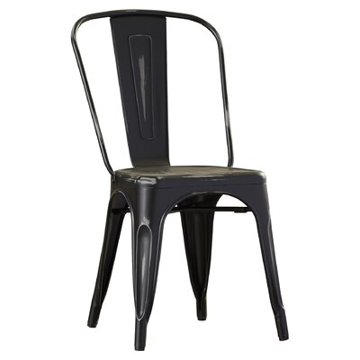 Fineview Dining Side Chair Finish: Antique Black