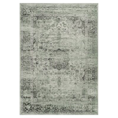 North Adams Green Area Rug Rug Size: 2 x 3