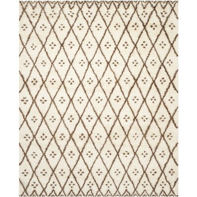 Sheridan Tan/Brown Area Rug Rug Size: 8 x 10