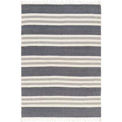Tincup 100% Cotton Throw Color: Charcoal