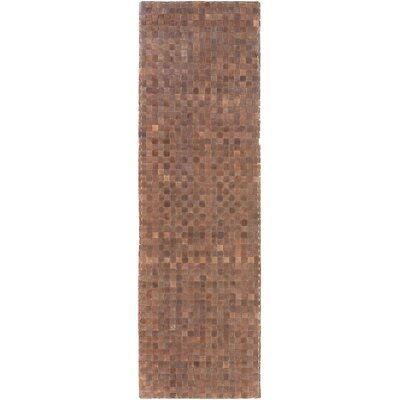 Taraji Hand Woven Brown Indoor/Outdoor Area Rug Rug Size: Runner 26 x 8