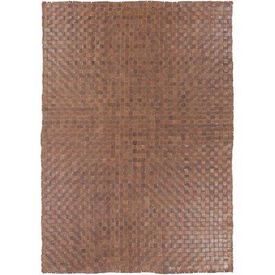 Taraji Hand Woven Brown Indoor/Outdoor Area Rug Rug Size: 8 x 10