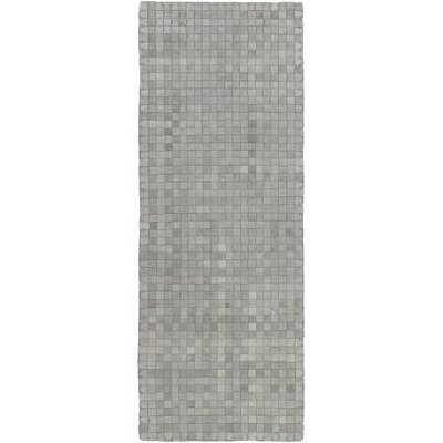 Taraji Hand Woven Gray Indoor/Outdoor Area Rug Rug Size: Runner 26 x 8