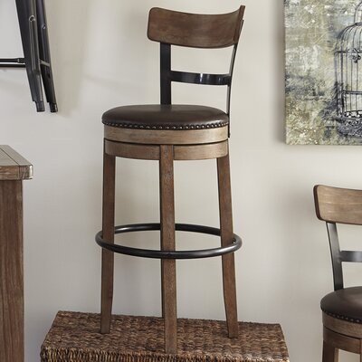 Empire 30.25 inch Swivel Bar Stool