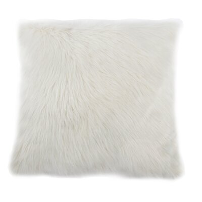 Aceves Faux Fur Throw Pillow