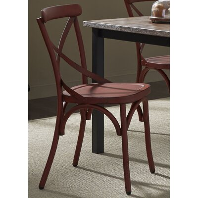 South Gate Side Chair (Set of 2) Finish: Red