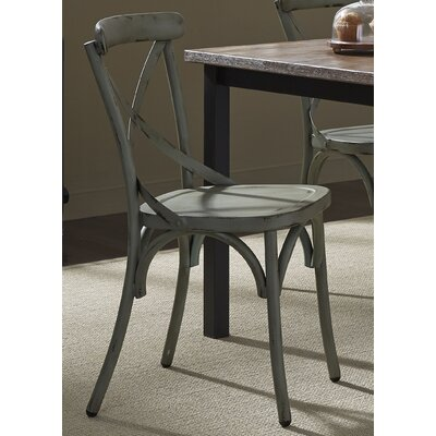 South Gate Side Chair (Set of 2) Finish: Green