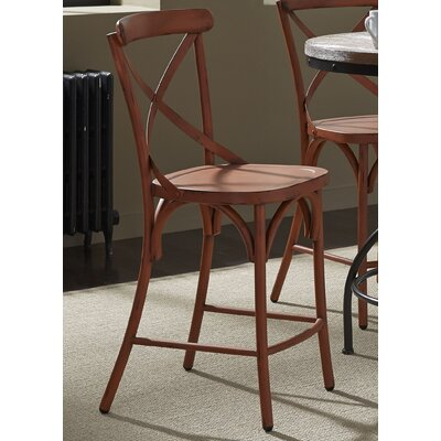 South Gate 41 inch Bar Stool (Set of 2) Finish: Orange