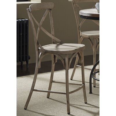 South Gate 41 Bar Stool (Set of 2) Finish: White