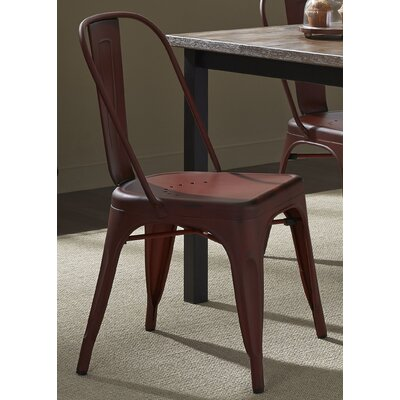 South Gate Side Chair Set (Set of 2) Finish: Red